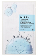 Тканевая маска с гиалуроновой кислотой MIZON Joyful time essence mask hyaluronic acid 23г: фото