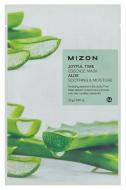 Тканевая маска с алое MIZON Joyful time essence mask aloe 23г: фото