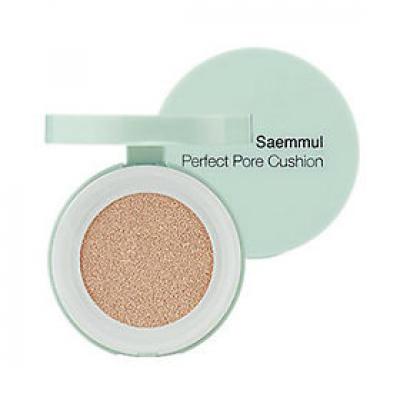 Тональная основа THE SAEM Saemmul Perfect Pore Cushion 01 Light Beige 12гр: фото