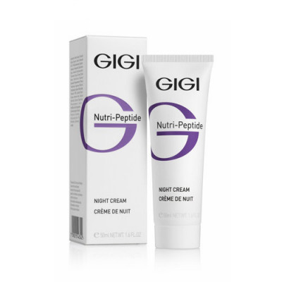 Крем пептидный ночной GIGI Nutri-Peptide Night cream 50 мл: фото