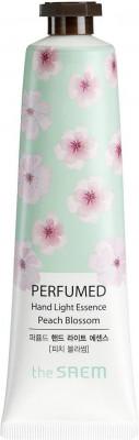 Крем-эссенция для рук парфюмированный THE SAEM Perfumed Hand Light Essence Peach Blossom 30мл: фото
