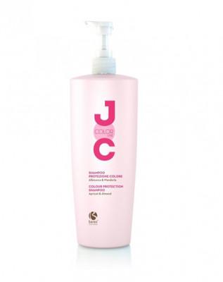 """Шампунь """"Стойкость цвета"""" с Абрикосом и Миндалем Barex JOC Protection Shampoo 1000мл: фото"""