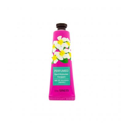 Крем для рук парфюмированный увлажняющий The Saem Perfumed Hand Moisturizer Frangipani 30мл: фото