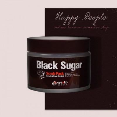 Скраб для лица Eyenlip BLACK SUGAR SCRUB PACK 100 мл: фото