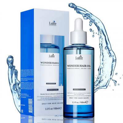 Масло для волос увлажняющее La'dor Wonder Hair Oil 100мл: фото