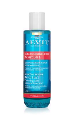 Мицеллярная вода для очищения кожи и демакияжа 5 в1 AEVIT BY LIBREDERM 100 мл: фото