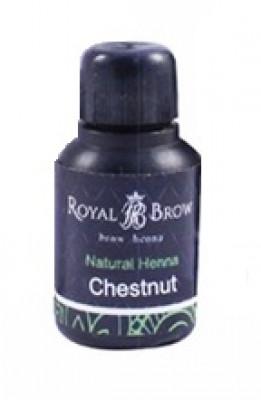 Хна для бровей Royal Brow Chestnut, Каштан 15мл: фото