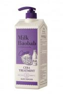 Бальзам с керамидами для волос, с ароматом детской присыпки MILK BAOBAB Cera Treatment Baby Powder 1200 мл: фото
