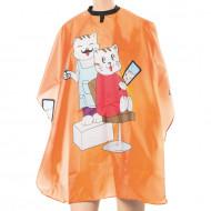 Пеньюар детский EUROSTIL cats оранжевый 120x95см: фото