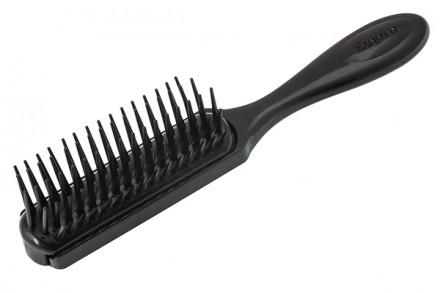 Щетка для мягких волос 5 рядов Denman Gentle Styling малая: фото