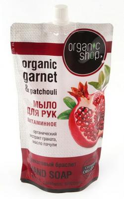 """Мыло жидкое Organic Shop """"Гранатовый браслет"""" 500мл: фото"""